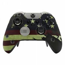 """American Flag ""Xbox One ELITE Rapid Fire Modded Controller 40 Mods for COD&more"