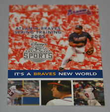 Atlanta Braves 2005 Spring Training Pocket Schedule (Disney's Wide World Sports)