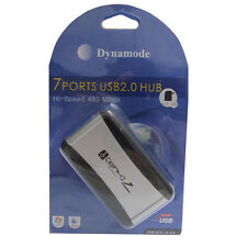 DYNAMODE USB-H701A2.0 7 PORT ACTIVE POWERED USB HUB (USB 2.0) FOR PC & MAC