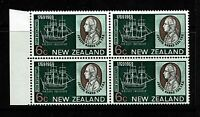 New Zealand SG# 907 - Bk 4 - One w/ Missing Belaying Pins - MH / HR - Lot 071617