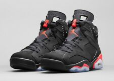 BRNW NIKE AIR JORDAN VI 6 RETRO BLACK INFRARED RARE UK SZ. 8.5UK (43EU)