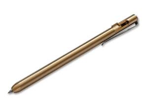 Böker Plus Kugelschreiber Rocket Pen Brass 13,2cm Kuli Stift Tactical Pen