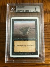MTG Magic The Gathering ~ Unlimited Edition ~ Sinkhole ~ BGS 9 MINT