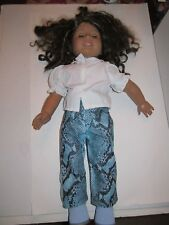 "2008 AMERICAN GIRL DOLL - AFRICAN AMERICAN - 19"" LONG"