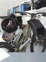 SET Antifurto Ancoraggio a Parete a Terra Cavo e Lucchetto per Bici 12x1000 mm