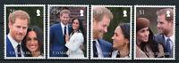 Cayman Islands 2018 MNH Prince Harry Meghan Royal Wedding 4v Set Royalty Stamps