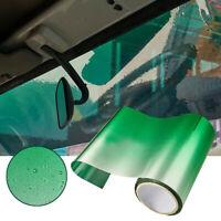 Green Sun Visor Strip Tint Film Car Front Windshield UV Shade Banner 20CMx150CM