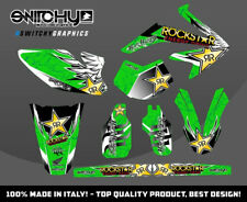 KIT ADESIVI GRAFICHE WINGS GREEN HM DERAPAGE 50 COMPETITION  2011 - 2015 DECALS