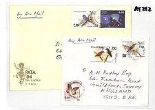 At282 1989 1987 Sri Lanka * bemmulla * copertura Surrey GB Guildford COPPIA PTS