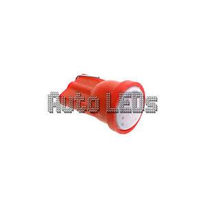 1 Red COB LED T10 Wedge 12v Interior LED Bulb