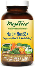 Multi for Men 55 Plus, MegaFood, 120 tablet