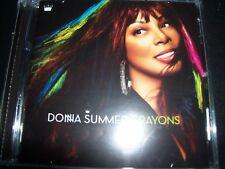 Donna Summer – Crayons (Australia) CD – Like New