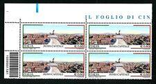 Italia Repubblica 2011 : Roma Capitale - quartina con codice a barre