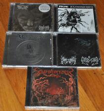 Black Gothic Black Metal CD LOT LEVIATHAN  SAPTHURAN Spun in Rue Southern Lord