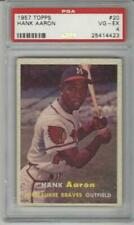 Hank Aaron 1957 Topps Baseball Card