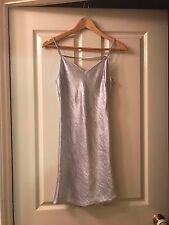 Womens Silver TOPSHOP PETITE Dress Australian Size 6