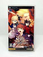 Sony PSP Playstation Portable - FATE Unlimited Codes Portable - Versión Japonesa