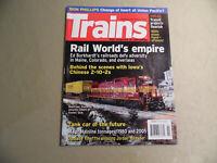 Trains Magazine / February 2007 / Free Domestic Shipping