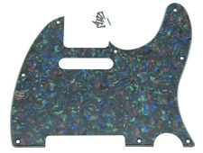 Abalone Pearl Tele Pickguard Scratch Plate fits USA/Mexican Fender Telecaster