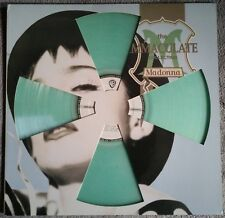 "Rare! Madonna -The Immaculate Collection 12"" LP Vinyl GREEN color colored colour"