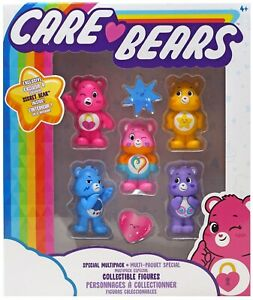 Care Bears Special Multipack Collectible Figures 2-Inch Mini Figure 5-Pack