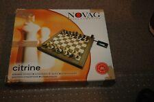 Schachcomputer Prospekt Novag 18 Seiten  Kleinformat