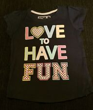 Girls Top T-Shirt 5-6 Years great condition
