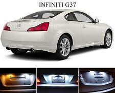 Xenon White License Plate / Tag 168 194 LED light bulbs for Infiniti G37 2Pcs