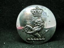 New listing Unknown Baron Demi-Lion w Spoked Cart Wheel 26mm S/P Livery Button Pitt 20th C