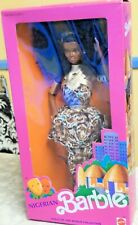Nigerian Barbie Dolls Of The World Collection 1989 Nrfb Mib