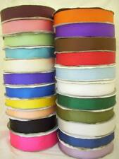 Grosgrain Ribbon Plain Solid Colours 3mm 6mm 10mm 15mm 19mm 25mm 38mm Charity