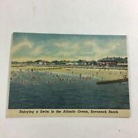 VINTAGE 1930s Mini Photographs Souvenir Pictures Savannah GA Bea. Atlantic Ocean