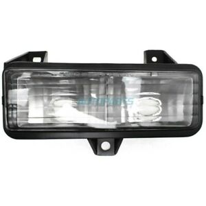 NEW LH TURN SIGNAL LAMP LENS AND HOUSING FITS 1989-1996 CHEVROLET G30 GM2520129