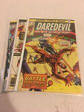 Daredevil 3 Book Lot. 132,139,140. Second Bullseye🔥🔥🔥