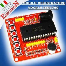 MODULO REGISTRATORE VOCALE 60sec ISD1760 MULTIFUNZIONE VOICE RECORD - ISD1700