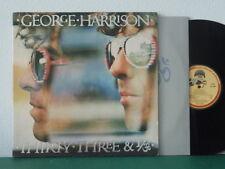 GEORGE HARRISON - Thirty-Three & 1/3 1976 LP gatefold w/ inner