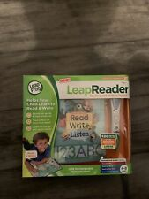 LeapFrog LeapReader Reading and Writing System Age 4-8 Educational 1 Book & Pen