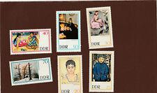 DDR-Kompl.-Satz--Gemälde--1967--Postfrisch