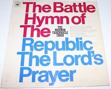 Mormon Tabernacle Choir - Battle Hymn / Lords Prayer [Vinyl LP] UK 63026 *EXC*