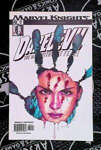 Daredevil  #51 2003 Marvel Knights Comics Bendis Mack Origin of Echo Disney+