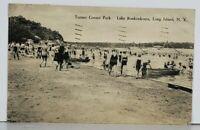 Long Island NY Turner Corner Park Lank Ronkonkoma c1930s Postcard J19