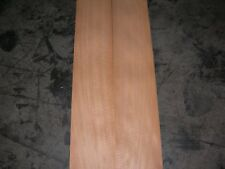 Fiddleback Anegre Wood Veneer. 6 x 83, 7 Sheets.