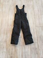 Rawik Black Insulated Snowboard Ski Pants Bibs Youth Girls Sz Medium