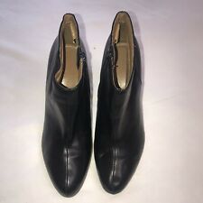 Fioni Black Heeled Ankle Boots Size 8