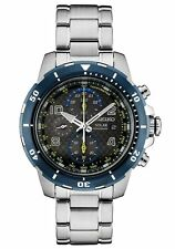 Seiko Solar Jimmie Johnson Special Edition Chronograph Mens Watch SSC637