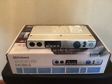 PRESONUS STUDIO 192 MOBILE 22x26 USB 3.0 Audio Interface Studio Command Center