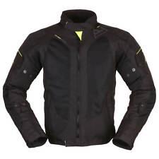 Modeka UPSWING Herren Motorrad Textiljacke Sport - schwarz neon gelb