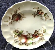 "Johnson Brothers Harvest Time Bread Plate 6 3/8"" Vintage Multi Color EXCELLENT"