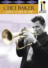 Jazz Icons: Chet Baker Live in '64 and '79 Live  DVD NEW 000320615
