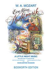 Klavier Noten : MOZART Eine kleine Nachtmusik - LEICHT (Heumann)